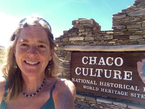 Me at Chaco Entry