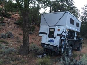 off kilter campsite