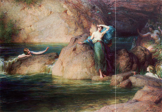 Halcyon (by Herbert James Draper)