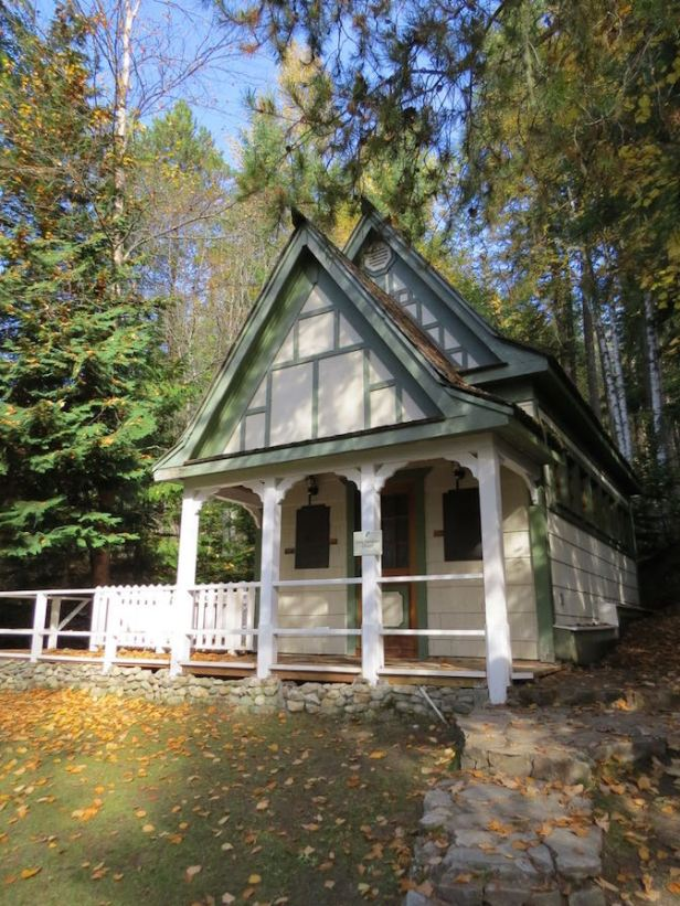 Anna Burnham Chapel--Halcyon hot springs