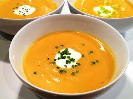 squash soup (generic photo!)