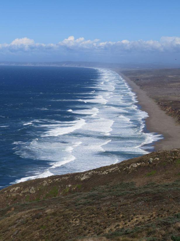 Point Reyes wild coastline