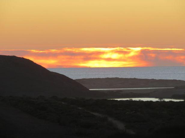 Pt Reyes sunset-Abbot Lagoon