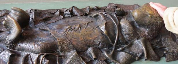 sea otter bronze