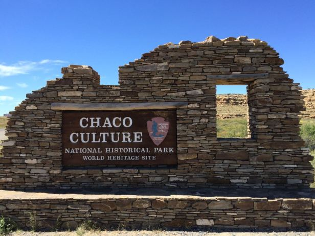 Chaco Culture National Historical Park Entry