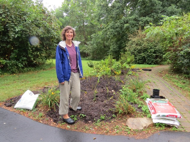 Nicole-monarch waystation garden