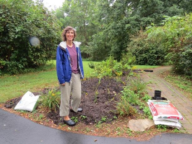 Nicole-monarch waystation garden