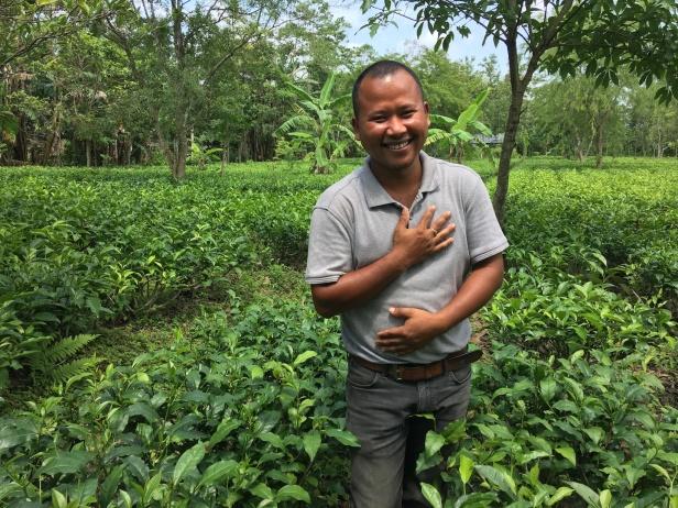 Certified plantation farmer Tenzing Bodosa copy